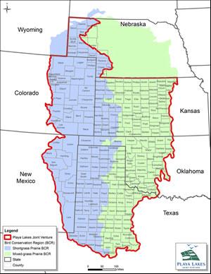 PLJV Boundary Map