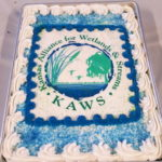 KAWS cake