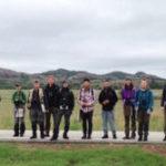 Crew in Grasslands at Wichita Mtns NWR