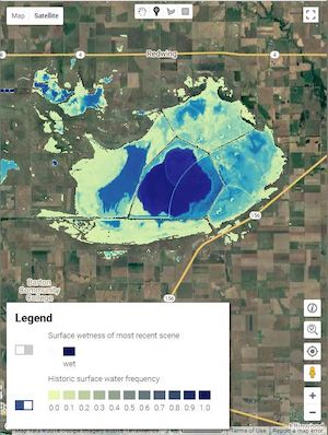Kansas Water Map